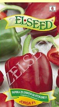 Paprika zeleninová sladká na rýchlenie Jorga F1  20s Zelseed