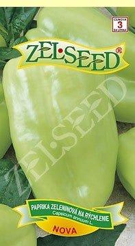 Paprika zeleninová sladká na rýchlenie Nova 0,7g Zelseed