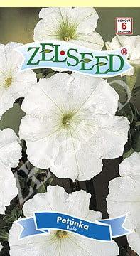 Petúnka biela 0,04g Zelseed