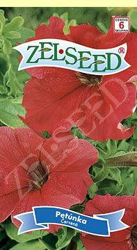 Petúnka červená 0,04g Zelseed