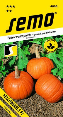 Tekvica YELLOWGIRLS F1  3g SEMO