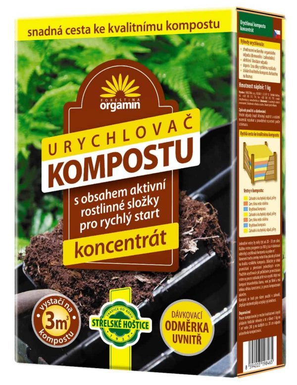 Urýchľovač kompostu 1kg