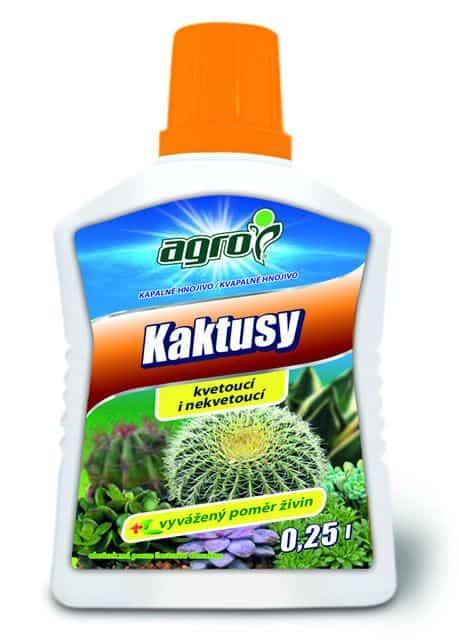 AGRO Kvapalné hnojivo na kaktusy 250ml