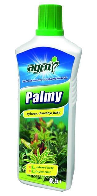 AGRO Kvapalné hnojivo na palmy a zelené rastliny 500ml
