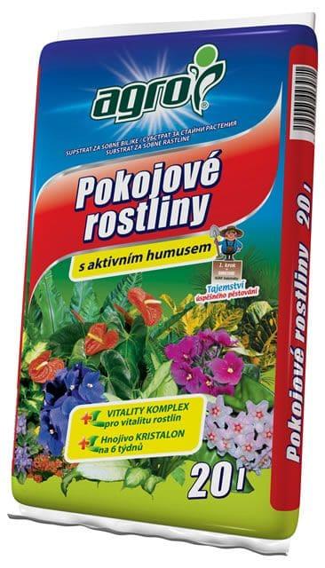 AGRO Substrát pre izbové rastliny 20l