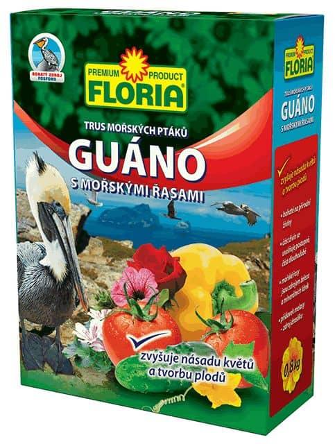 FLORIA Guáno s morskými riasami 800g