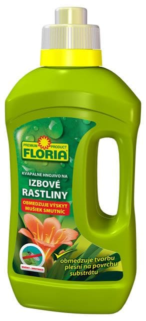 FLORIA Kvapalné hnojivo na izbové rastliny 0,5l