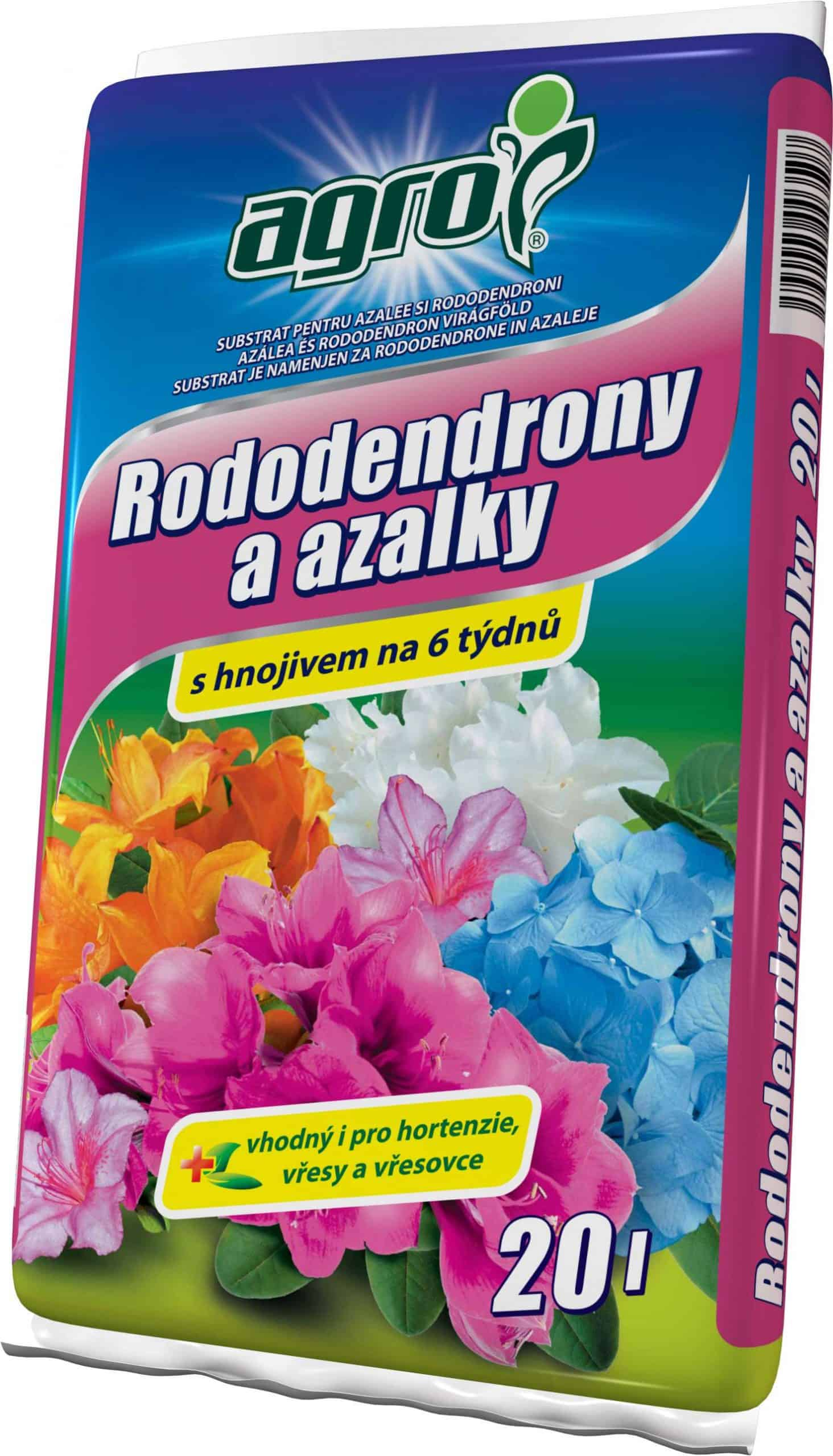 AGRO Substrát na azalky a rododendróny 20l