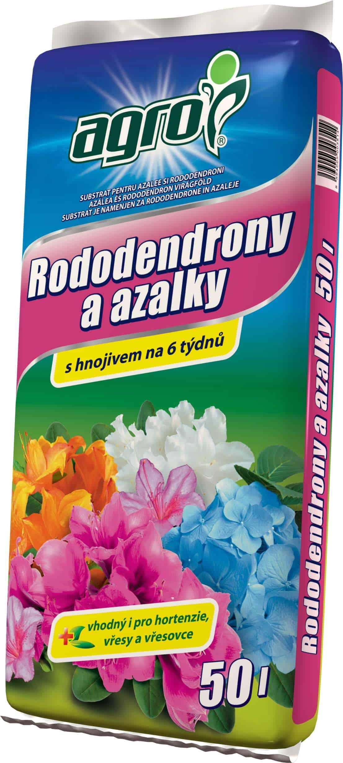 AGRO Substrát na azalky a rododendróny 50l