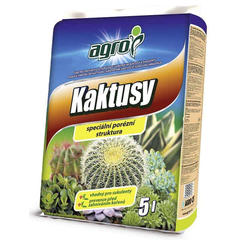 AGRO Substrát na kaktusy a sukulenty 5l