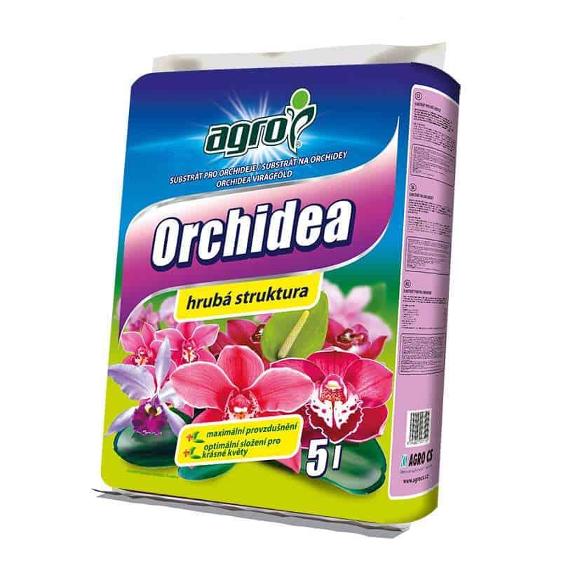 AGRO Substrát na orchidey 5l