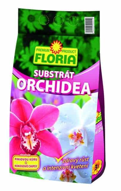 FLORIA Substrát na orchidey 3l