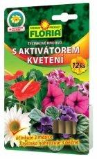 FLORIA Tyčinkové hnojivo s aktivátorom kvitnutia 12ks