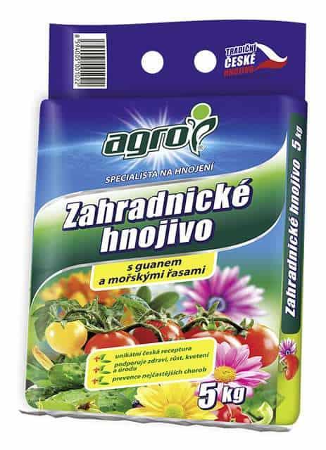 Záhradnícke hnojivo 2,5kg