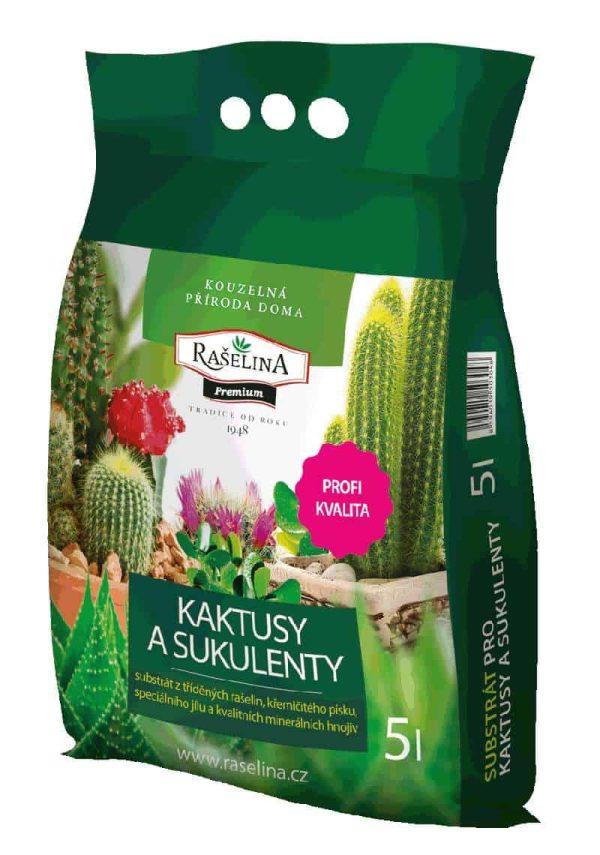 Substrát pre kaktusy a sukulenty 5l SOB