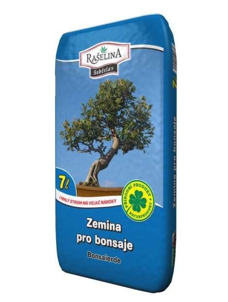 Zemina pre bonsaje 7l SOB