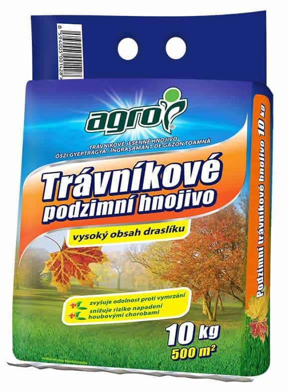 Agro Jesenné Trávnikové hnojivo 10kg