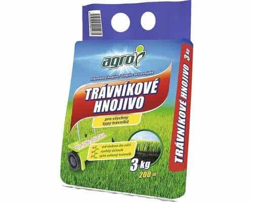 AGRO Trávnikové hnojivo 3kg