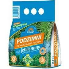 Jesenné hnojivo na ihličnany 2,5kg