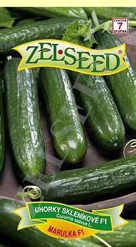 Uhorky skleníkové Marulka F1  10s Zelseed