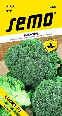 Brokolica LUCKY F1  40sem. SEMO