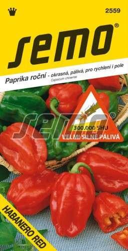 Paprika štipľavá HABANERO RED 15s SEMO