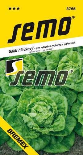 Šalát hlávkový BREMEX 0,6g SEMO