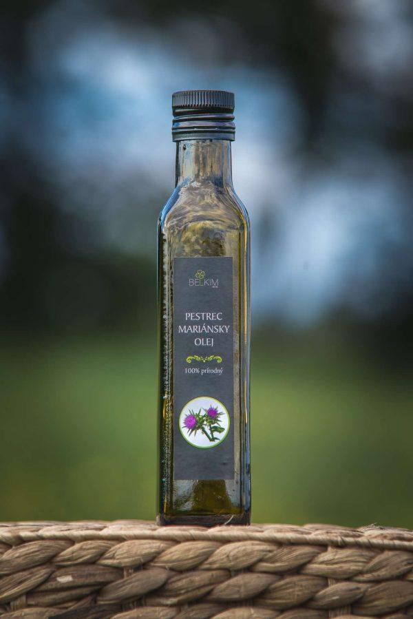 Olej z Pestreca mariánskeho 250ml