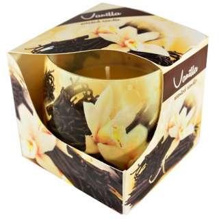Sviečka v skle 100g voňavá Vanilka